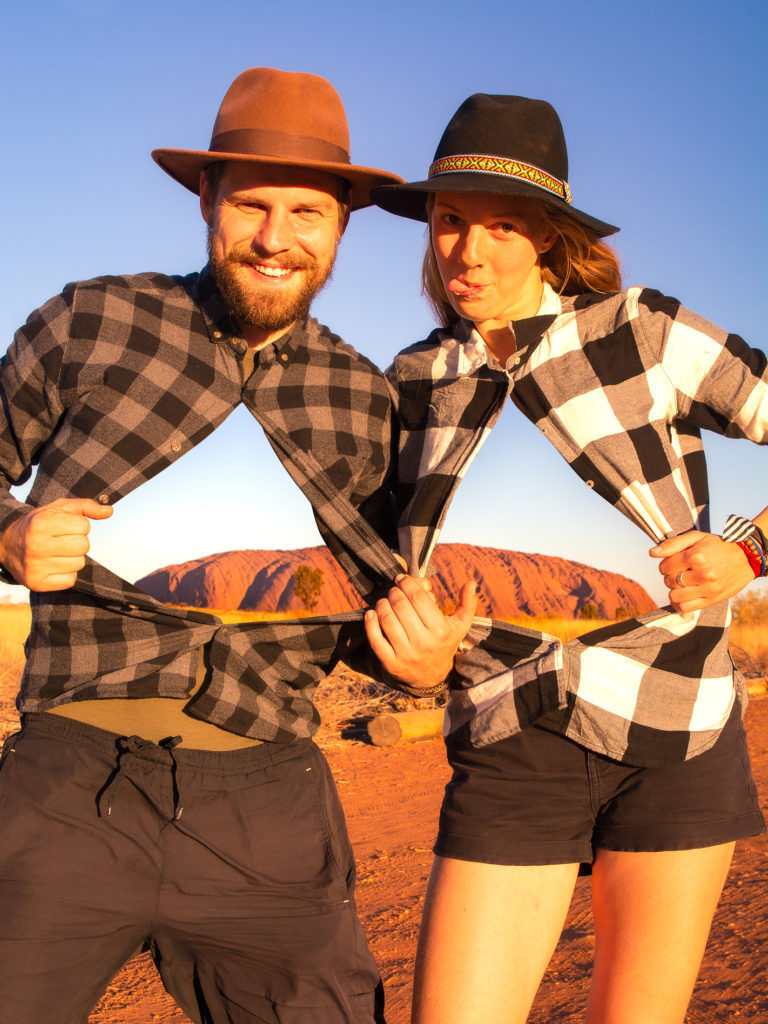 Dalibor a Anezka, Uluru, Australie