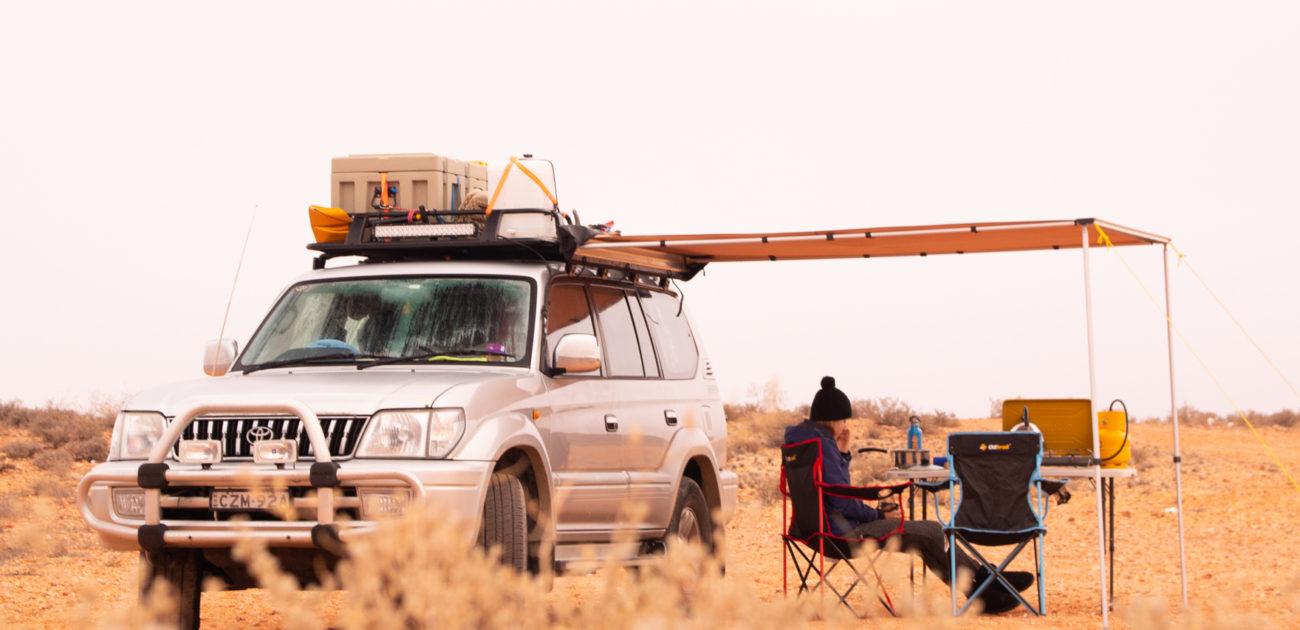 AUSTRÁLIE: Život, cestování a kempování v kostce