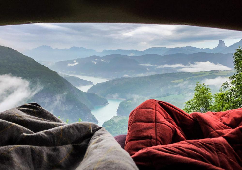Eurotrip & free camping po jihozápadní Evropě s Fordem Galaxy.