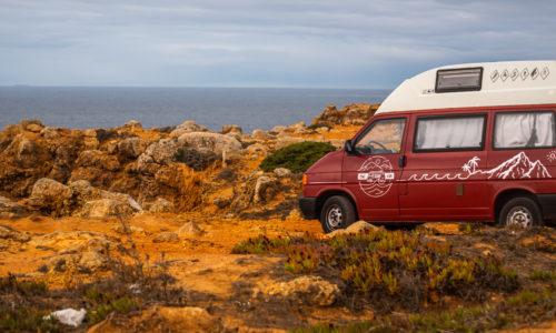 """Netradiční dovolená s OneSurfVan + T""""čtyřkou"""" na cestě po Andalusii i Portugalsku nejen za surfováním"""