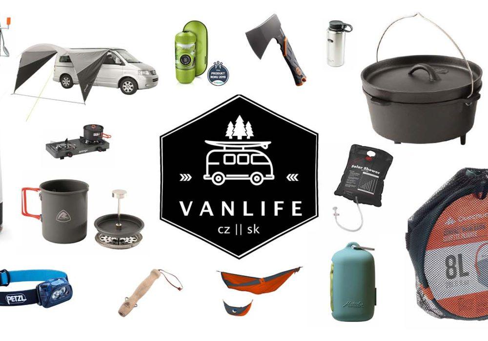 Vanlifeři doporučují: Nejlepší vybavení na kempování v roce 2020
