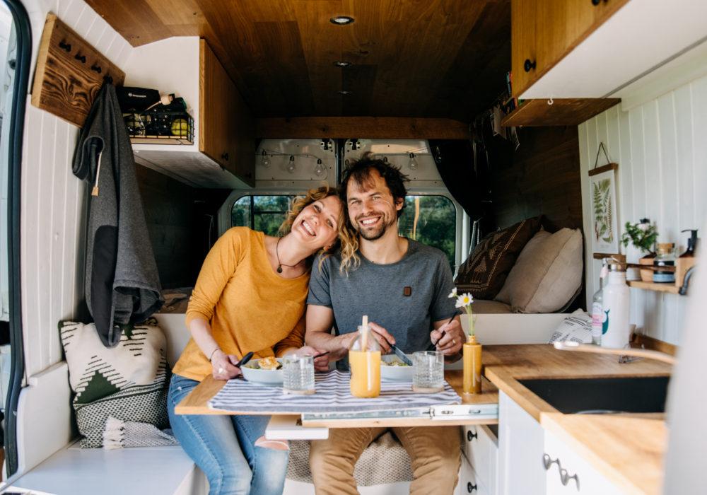 NOMA – The happy van: Citroen Jumper vybaven na celoroční kempování + virtuální foto prohlídka